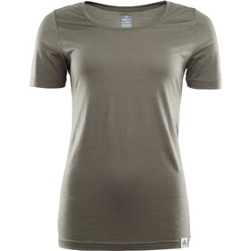 Aclima LightWool T-Shirt Donna, ranger green